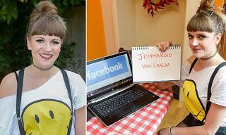 شخص يغير اسمه بسبب الفيسبوك