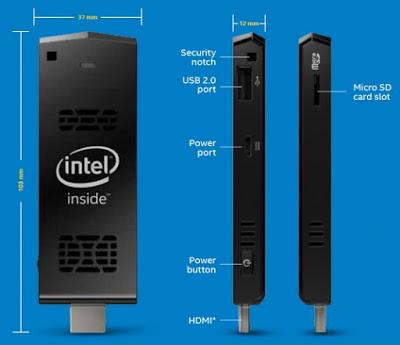 حاسوب بحجم كف اليد Compute Stick