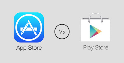 Google Play and App Store stats