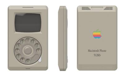 ماذا لو قامت آبل بصناعة هذا الهاتف قبل 23 سنة من تاريخ صدوره لأول مرة في 2007 apple