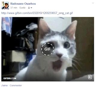 هذه هي حدود إستخدام الميزة الجديدة من فيسبوك !: مشاركة الصور المتحركة بصيغة GIF