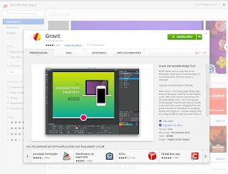 Graviti محرر صور للمتصفح جوجل كروم مجاني رائع