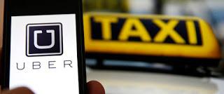 تطبيق ;Uberغير قانوني في المغرب