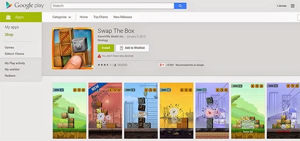 5 ألعاب أندرويد Swap The Box
