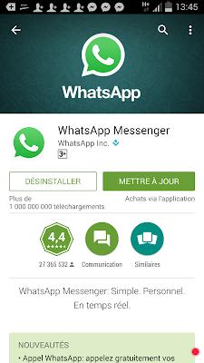التحديث الجديد لتطبيق الواتساب أصبح بالإمكان العثور بسهولة على أي نص أو كلمة بسهولة وسرعة
