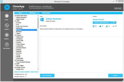 CloneApp نقل التعريفات من ويندوز الي اخر بسهوله
