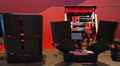 استطاعت شركة اسوس التايوانية  وبتعاون مع In Win بناء حاسوب مكتبي غريب التصميم
