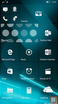 الاصدارالأحدث حاليا من نظام ويندوز 10 موبايل