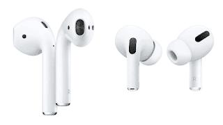 Apple AirPods Pro يعمل علي إلغاء الضوضاء بالفعل سماعات جيده